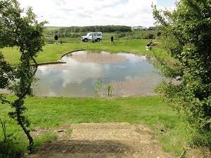 第4チャクラのハートの池