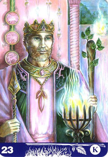 $オーラソーマ 総合情報サイト ブログ-23 King of Wands