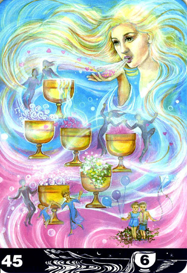 45 Six of Cups
