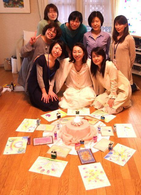 $オーラソーマ 総合情報サイト ブログ-寛子さんお茶会5