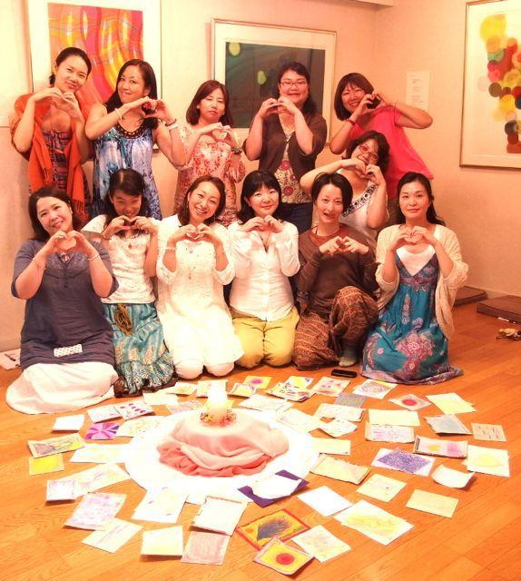 $オーラソーマ 総合情報サイト ブログ-石黒寛子さんのカラーダイアリーお茶会7