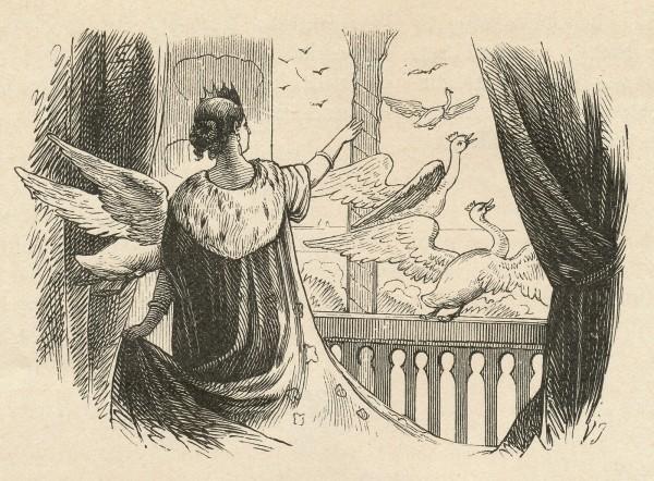 アンデルセン「野の白鳥」1