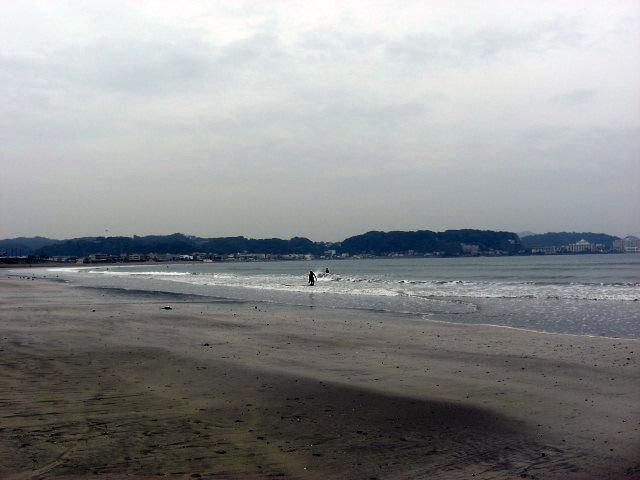 $オーラソーマ 総合情報サイト ブログ-秋の由比ヶ浜海岸・2