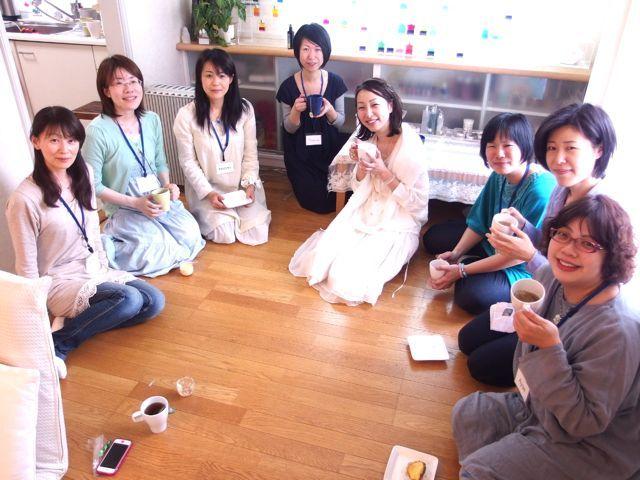 $オーラソーマ 総合情報サイト ブログ-寛子さんお茶会2