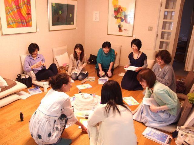 $オーラソーマ 総合情報サイト ブログ-寛子さんお茶会4