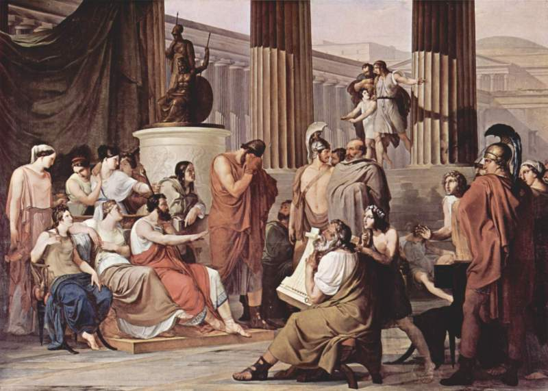 ホメーロス『オデュッセイア』吟遊詩人
