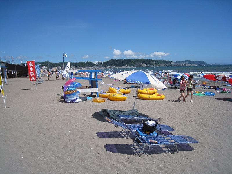 $オーラソーマ総合情報サイト・ブログ-夏の由比ヶ浜海岸・1