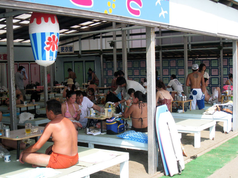 $オーラソーマ総合情報サイト・ブログ-夏の由比ヶ浜海岸・3