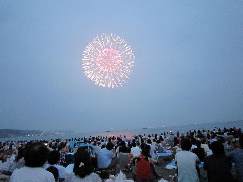$オーラソーマ 総合情報サイト ブログ-鎌倉花火大会・2
