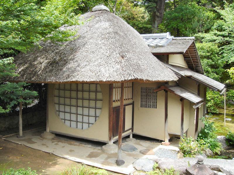 草庵の茶室