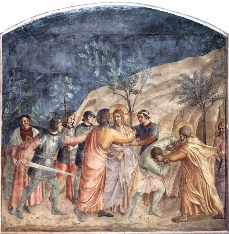 フラ・アンジェリコ『イエスの捕縛』