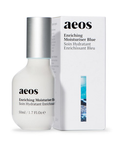 A07BN エンリッチング モイスチャライザー (ブルー) 50ml 軽いつけ心地のクリーム、AEOSスキンケアの仕上げのステップ<エイオス スキンケア>