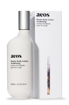 A17YAN ビューティ ボディ ローション (イエロー) アウェイクニング 200ml 入浴後のお肌に潤いを与え、やさしい香りで身体全体を包む<オーラソーマ・エイオス スキンケア>