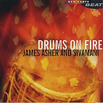 ACD07 ドラムス オン ファイアー ジェームス アッシャー&シヴァマニ James Asher and Sivamani<オーラソーマ・ミュージックCD>