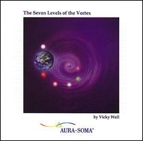 ACD11 CD ザ セブン レベル オブ ザ ヴォルテックス(英語) ヴィッキー ウォール Vicky Wall<オーラソーマ瞑想CD>