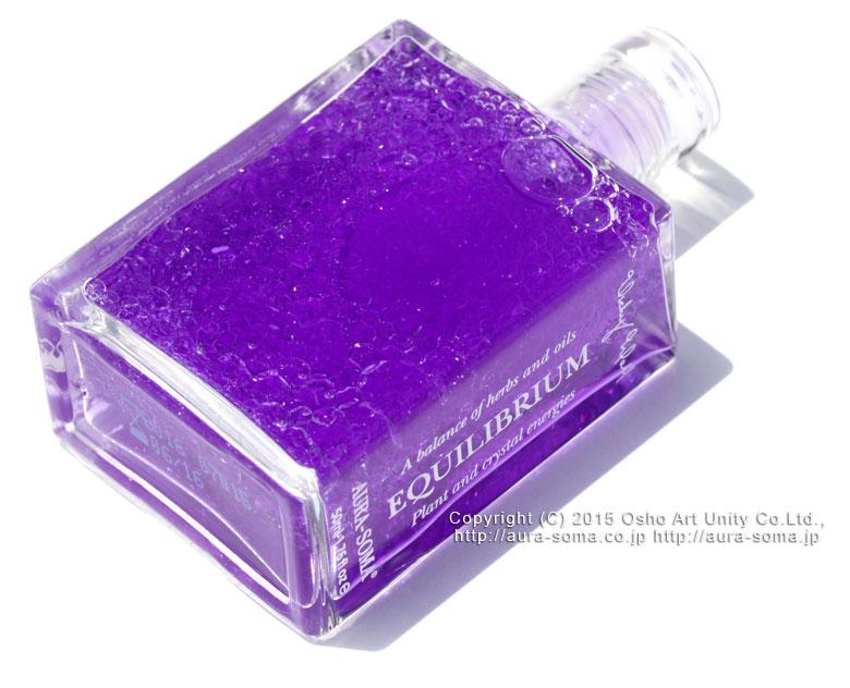 オーラソーマ イクイリブリアム ボトル B016 菫色の衣 TheVioletRobe