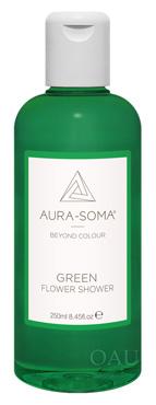 FS03 グリーン 新鮮な始まりのために。ミント/松の香り<オーラソーマ・フラワーシャワー・250ml>