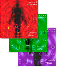 FULLSCD3 サウンドレゾナンス・チャクラ組曲CD3枚組み コマラ & ヴィーアス Komala & Vibhas<瞑想CD/瞑想音楽>
